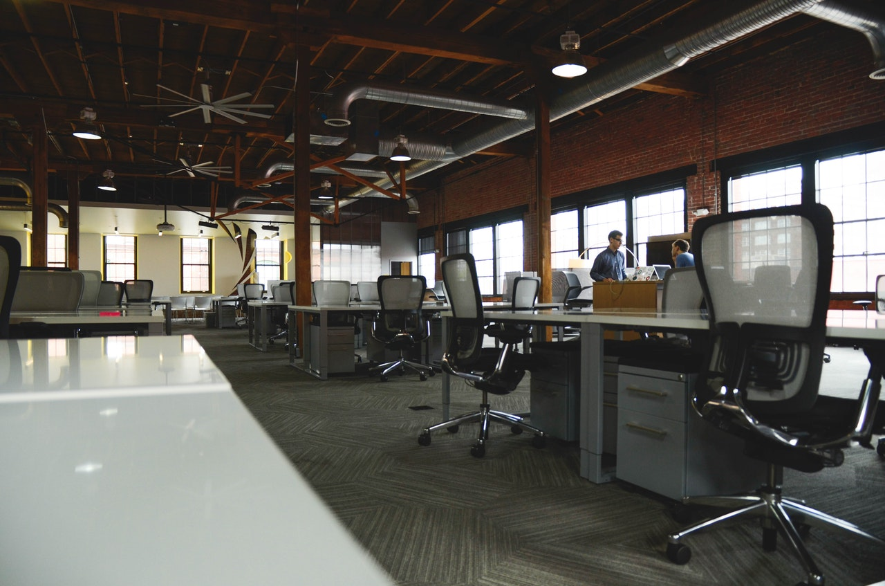 office company business workspace