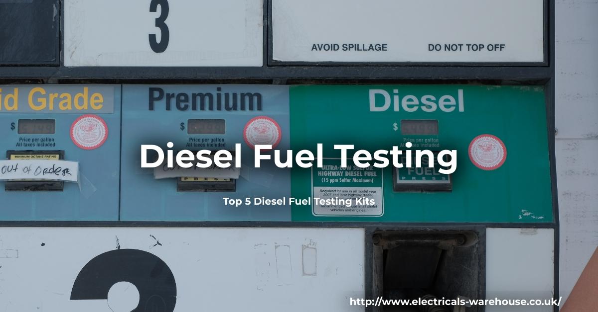 Image shows a diesel fuel testing pump.